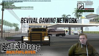 German Roleplay (Revival) HD+ Der Trucker Job ist gut (Server Test) (SA-MP)