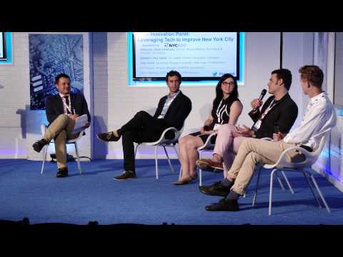 NYCEDC Civic Innovation Panel: Leveraging Tech to Improve New York City