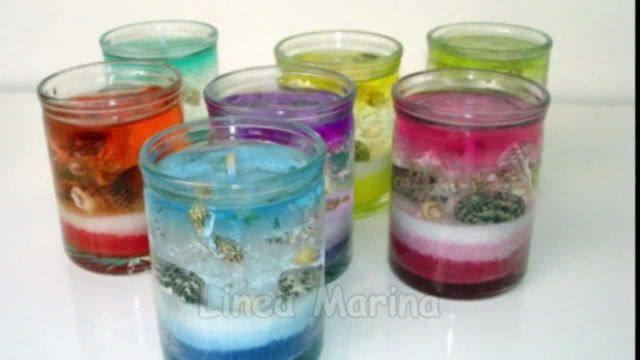 Aquavelas youtube - Velas de gel ...