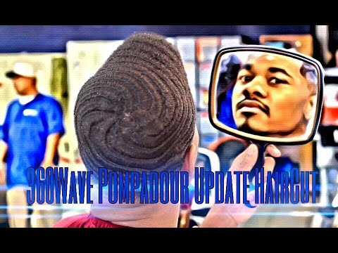 360 Wave Pompadour Update Haircut 1080p YouTube