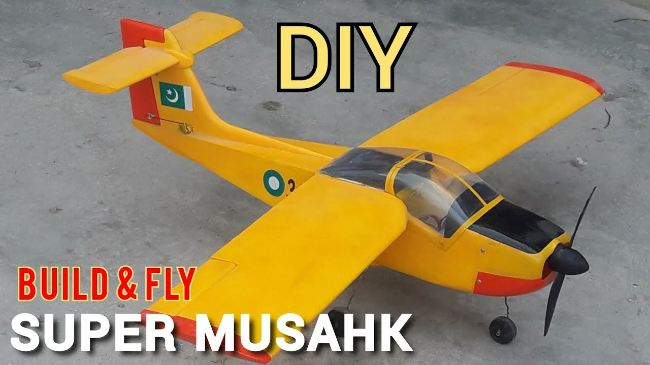 Download How To Make RC Plane. Super Mashak. DIY BUILD And FLY