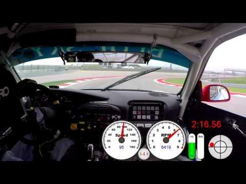 Circuit of the Americas (COTA) Onboard Porsche GT3R