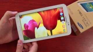 Samsung Galaxy Tab 3 7.0 Обзор
