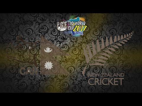 PGE T10 WORLD CUP 2017 – NEPAL v NEW ZEALAND GROUP 2 MATCH 16