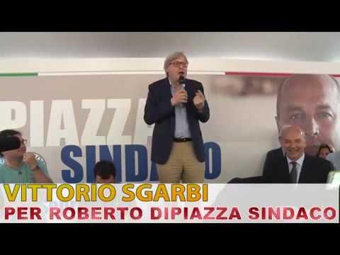Intervento vergognoso di Vittorio Sgarbi a...