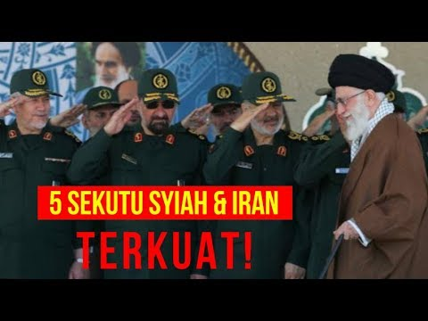 5 Sekutu SYIAH Terkuat dan Aliran Alutsista IRAN