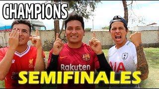 !!SEMIFINALES DE LA CHAMPIONS LEAGUE¡¡¡  ⚽️⚽️⚽️BARCĄ vs LIVERPOOL vs TOTTENHAM  (ida)