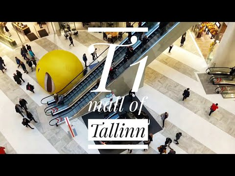 10.11.2018  T1 MALL OF TALLINN the newest shopping mall.