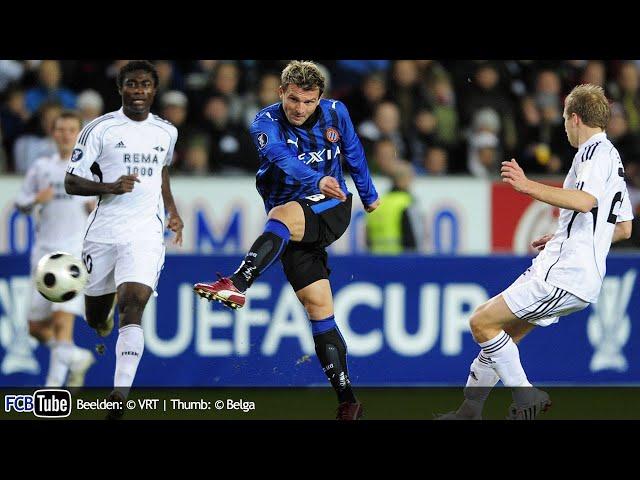 2008-2009 - UEFA-Cup - 03. Groep G Match 1 - Rosenborg - Club Brugge 0-0