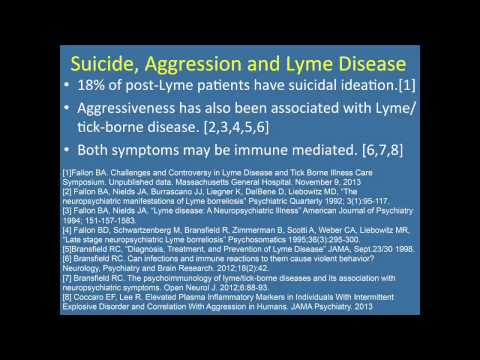 Psychoimmunology of Tick borne Diseases and its Association with Neuropsychiatric Symptoms  HD
