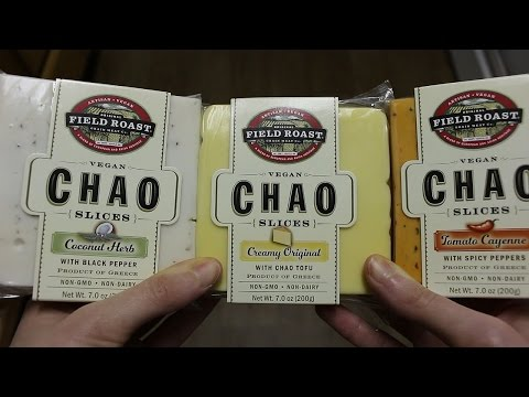 Chao Slices Test Taste (vegan Cheese Review)