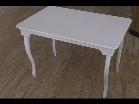 Уличный стол из фанеры