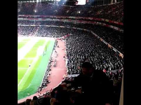 Adeptos do Sporting dão show no Emirates Stadium!!! Arsenal vs Sporting | 08-11-2018