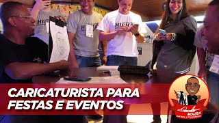 Danilo Moura - Caricaturista para Festas e Eventos
