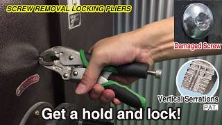 """ENGINEER"" Screw Removal Locking Pliers, Full Line-up ~English Ver.~"