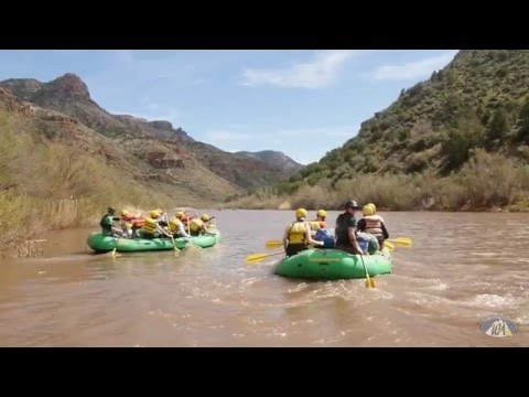 Salt River Multi Day Rafting in Arizona