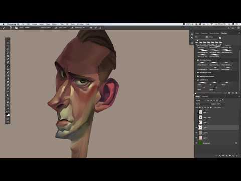 Photoshop Painting Time Lapse - Randy Bishop