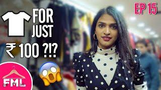 LIT | Budget Makeover under 1500 | Deepika Padukone Look in Kamla Nagar Market | FML #15