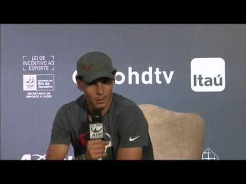 Rafael Nadal Prepares for Rio Open