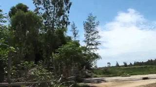 Hoian Bicycle Tour- Country Road In Kim Bong Village.flv