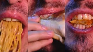 ASMR EATING ULTIMATE SLEEP ONE HOUR + NO TALKING MASHUP 먹방