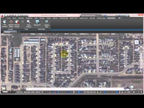 AutoCAD 2015 Geolocation