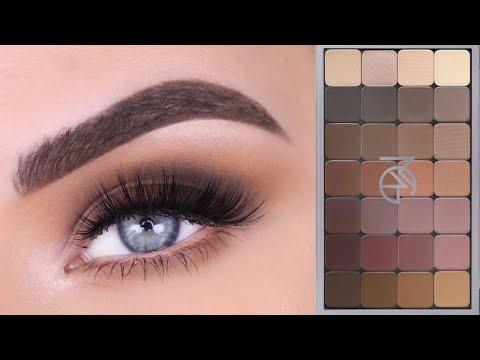 Makeup Geek Neutral Matrix Palette   Eyeshadow Tutorial