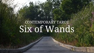 Six of Wands: Triumph and leadership. Self-confidence and others al...