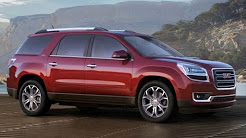 2015 GMC Acadia Start Up and Review 3.6 L V6