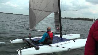 Rutland Water A-Class Catamaran Sailing HD