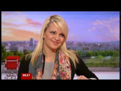 Fired Apprentice Katy Wright on BBC Breakfast 26.04.12