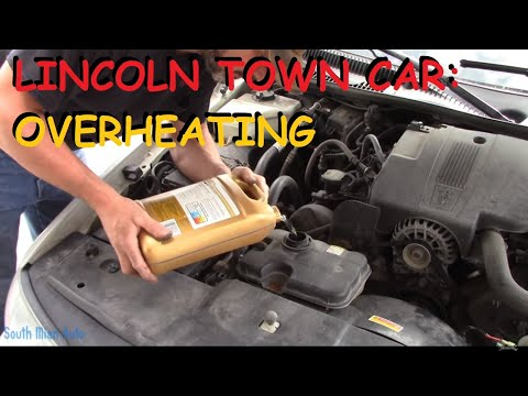 Overheating Lincoln Town Car