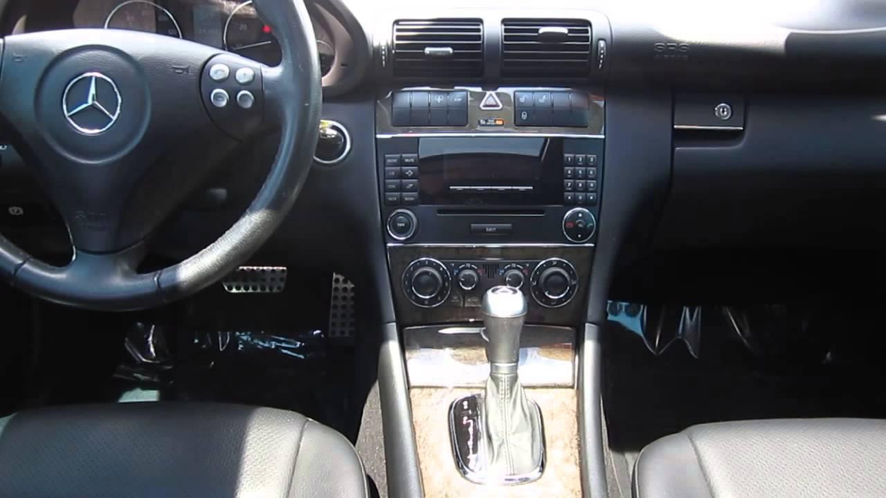 2007 mercedes benz c230  black stock k1310421