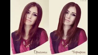 Рисование портрета в Adobe PhotoShop CC 2015