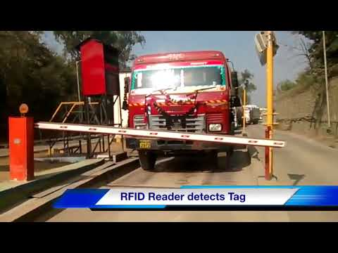 iTEK Unmanned Weigh-bridge Automation using RFID Tamperproof Windshield tags