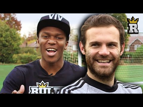 KSI, Juan Mata & JMX - Next Level Crossbar - WOODWORK CHALLENGE | Rule'm Sports