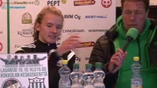 KPV - FC KTP la 15.10.2016 - Lehdistötilaisuus