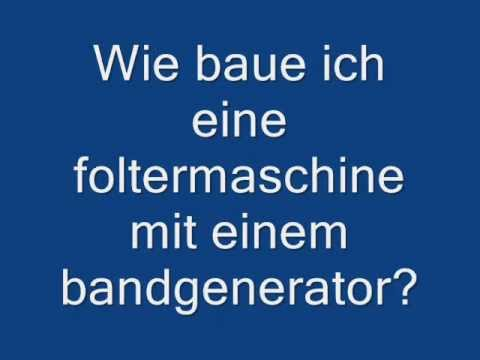 wie baue ich einen elektroschocker mit einem bandgenerator youtube. Black Bedroom Furniture Sets. Home Design Ideas