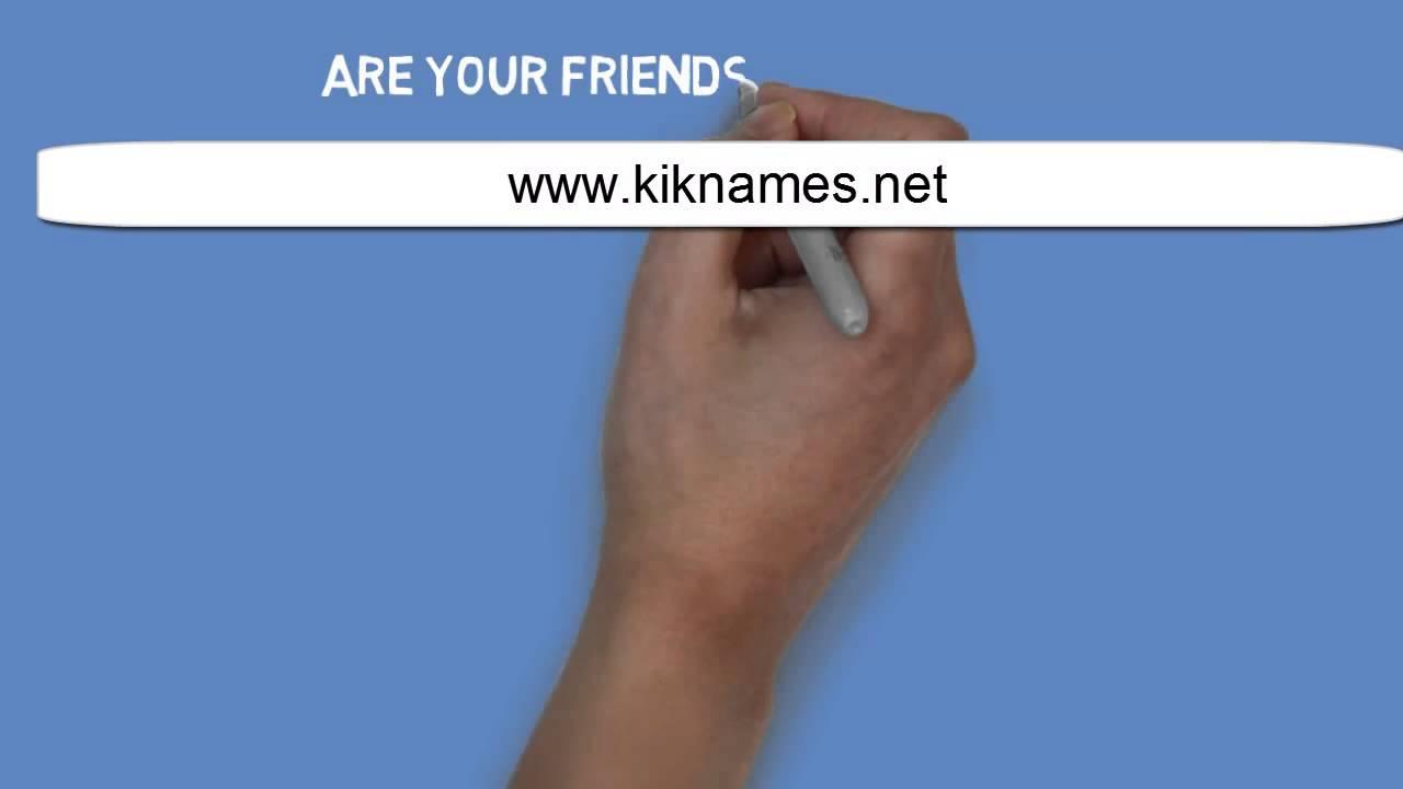 Free kik usernames