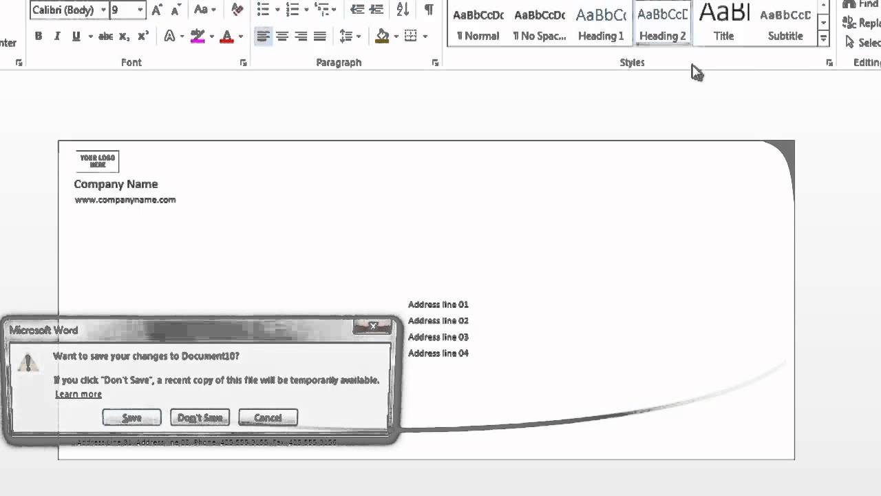 How to format envelopes on microsoft word using microsoft word how to format envelopes on microsoft word using microsoft word spiritdancerdesigns Images