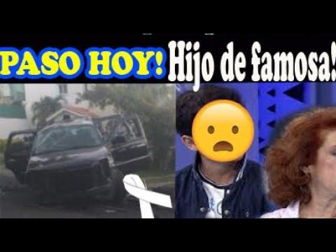 Paso hoy! Hijo de maría elena saldaña sufr3 apar4toso acc1dent3 Lamentable Noticia!!