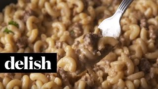 How Make Cheeseburger Mac Cheese