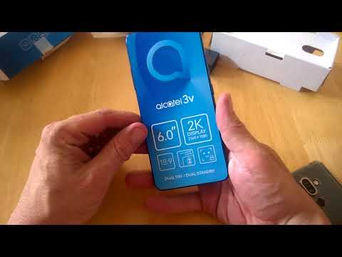 First Look And Unboxing - The ALCATEL 3V On Tesco Mobile #alcatel #3v #tech