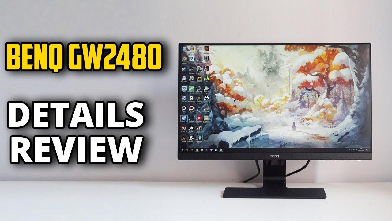 BenQ GW2480 24inchi 1080p IPS Monitor Review - YouTube