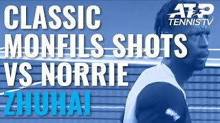 Classic Gael Monfils Shots In Win Over Norrie | Zhuhai Championships 2019
