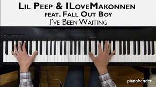 Lil Peep & ILoveMakonnen feat. Fall Out Boy – I've Been Waiting - Piano Cover Video