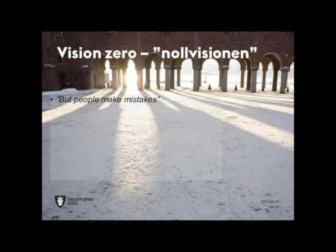Stockholm —Vision Zero