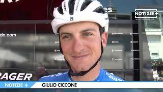 Ciccone Maglia Gialla al Tour : Intervista inedita
