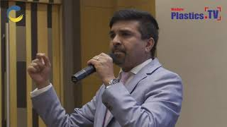 Mr.Cyril Pereira, IndiaPlast 2019 road show at The Imperial Palace, Rajkot