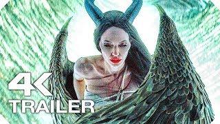 МАЛЕФИСЕНТА 2 Русский Трейлер #2 (4K ULTRA HD) НОВЫЙ 2019 Анджелина Джоли Disney Fantasy Movie HD